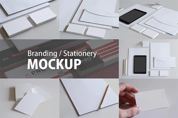 Clean Branding / Stationery Mockups