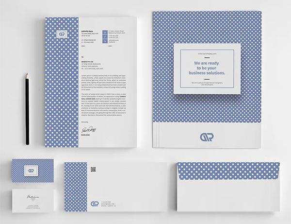 Corporate Branding Stationery Pack
