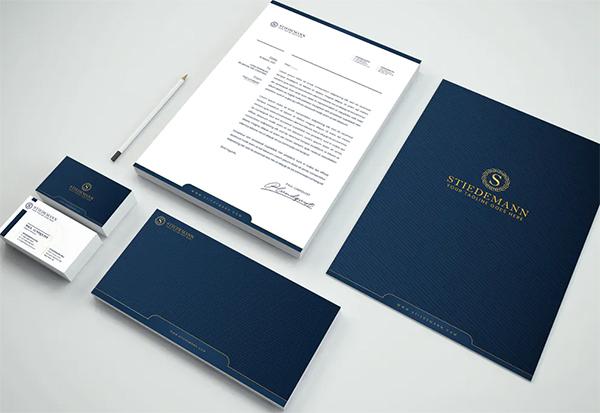 Luxury Branding Identity & Stationery Pack
