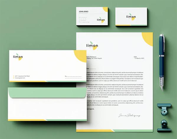 Nature Branding Identity & Stationery Pack