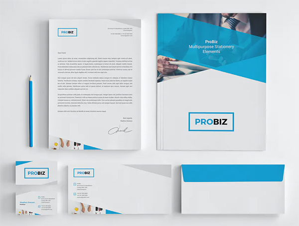 ProBiz – Stationery Elements