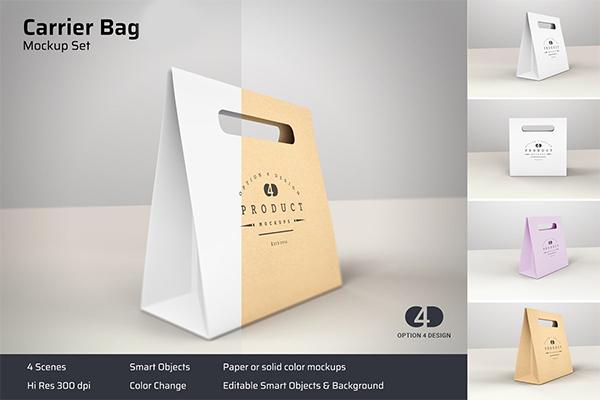 Carrier Bag Product Mockup