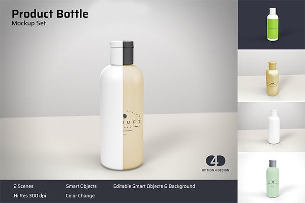 Product Bottle Mockup