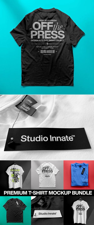 T-shirt Mockup Bundle
