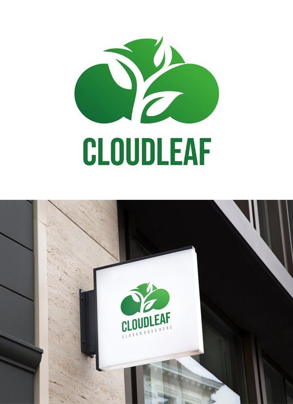Cloud Leaf Logo