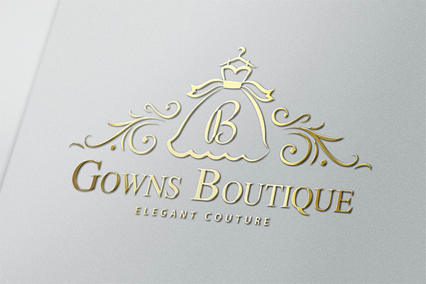Gowns Boutique Logo