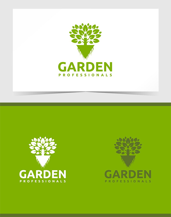 Garden Care Logo Template