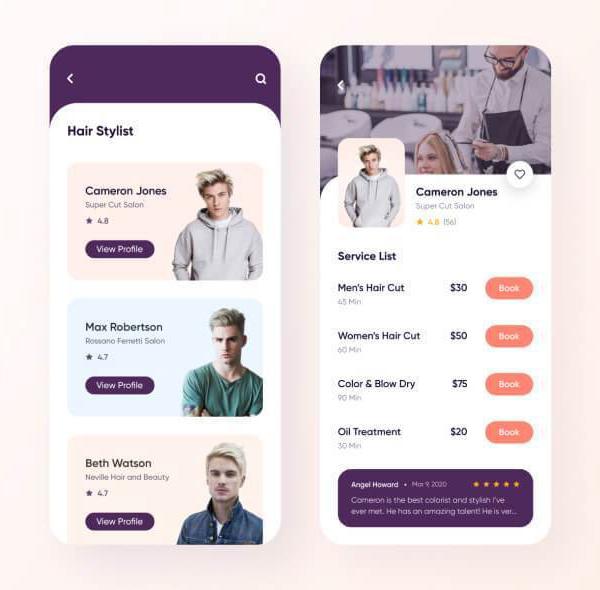 Salon Booking App Free