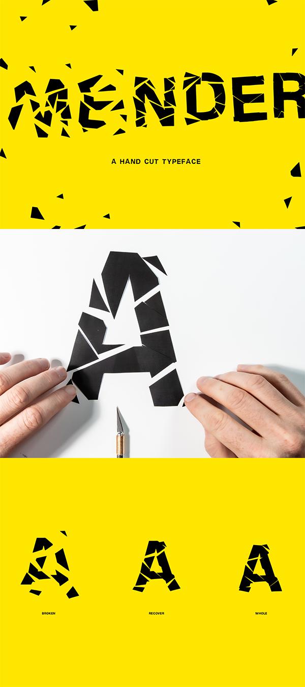 Mender Free Font