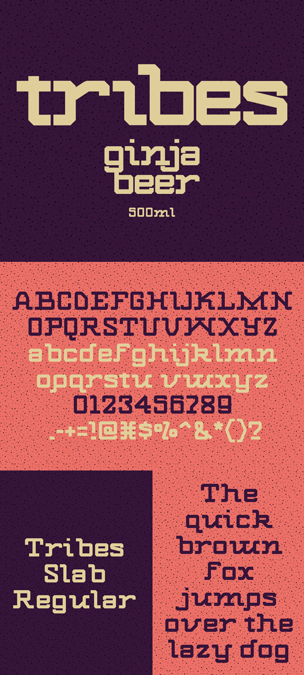 Tribes Free Font