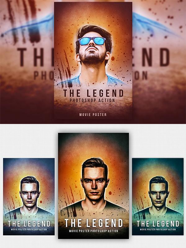 The Legend Photoshop Action