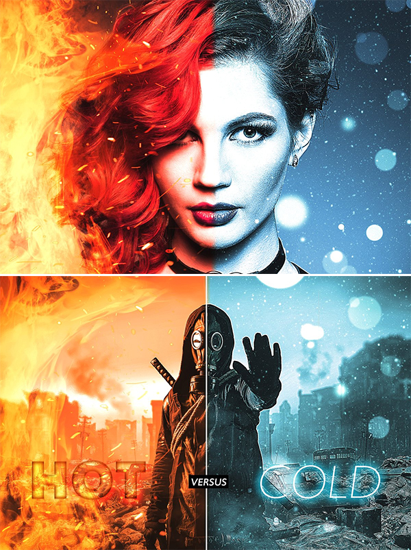 Realistic Hot vs Cold Effect
