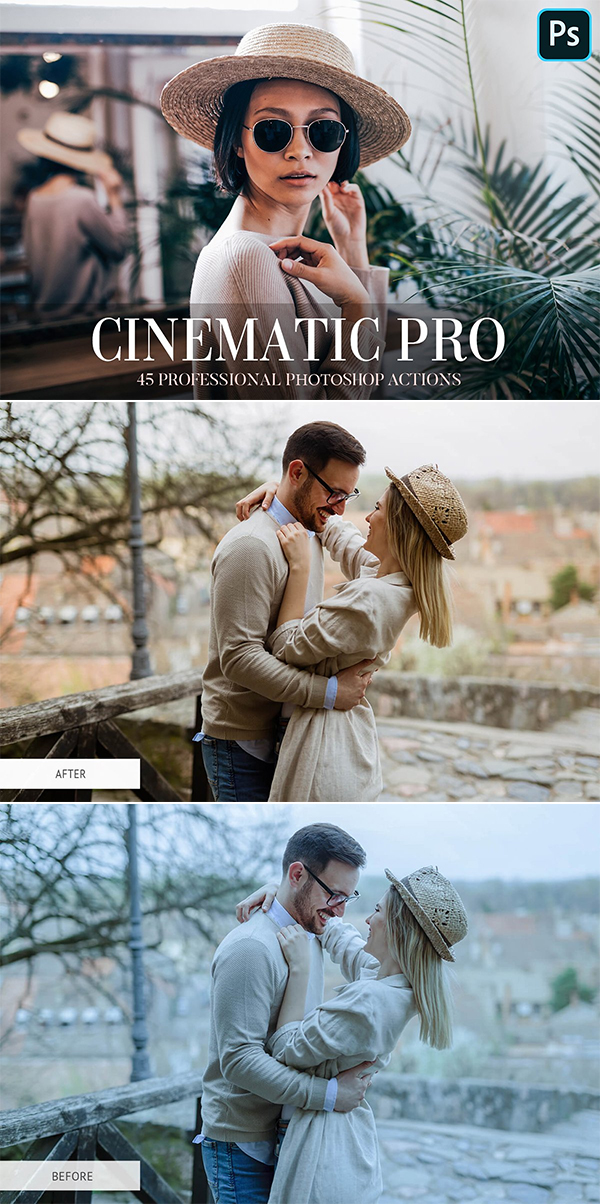 Photoshop Actions - Cinematic Pro