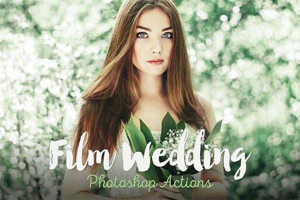 Film Wedding Photoshop Actions