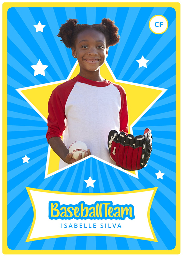 How to Make a Baseball Card Template in Photoshop