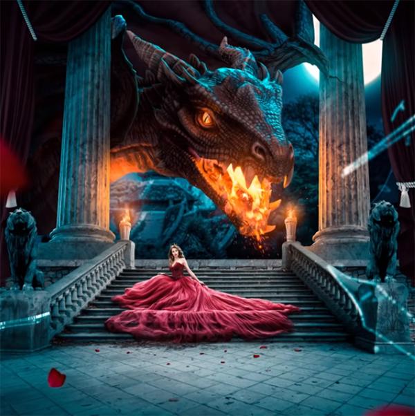 The Last Dragon – Advanced Photo Manipulation