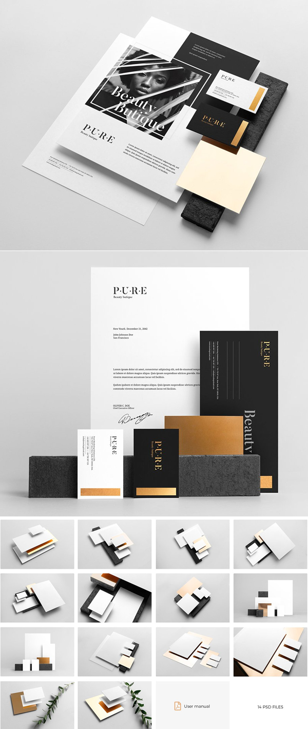 Pure Branding Mockup