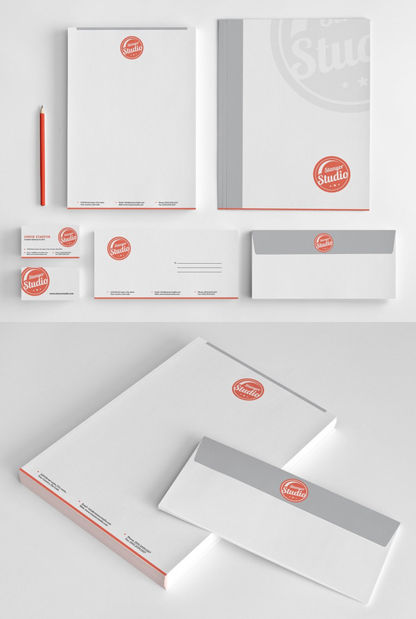 Simple Stationery set