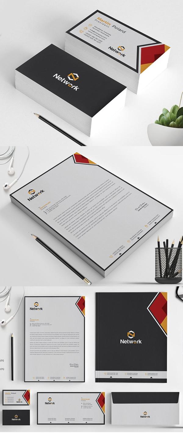 Elegant Corporate Identity Stationery Pack