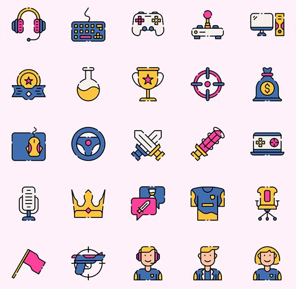 Free E Sport Icon Set