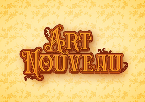 How to Create an Art Nouveau Text Effect in Illustrator
