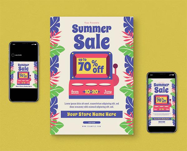 Summer Sale Flyer Pack