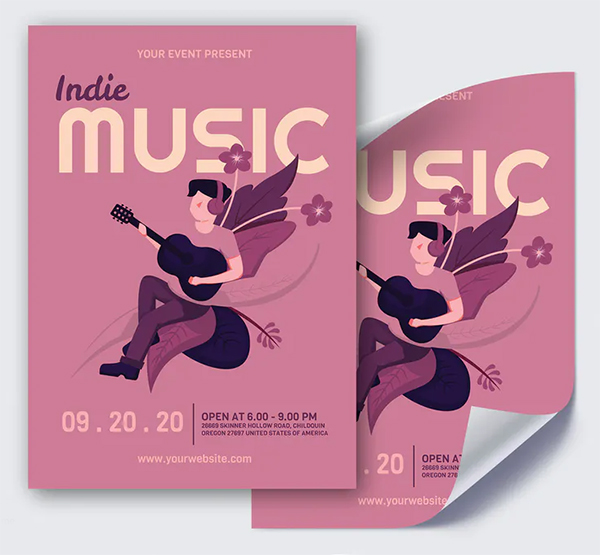 Indie Music - Poster GR