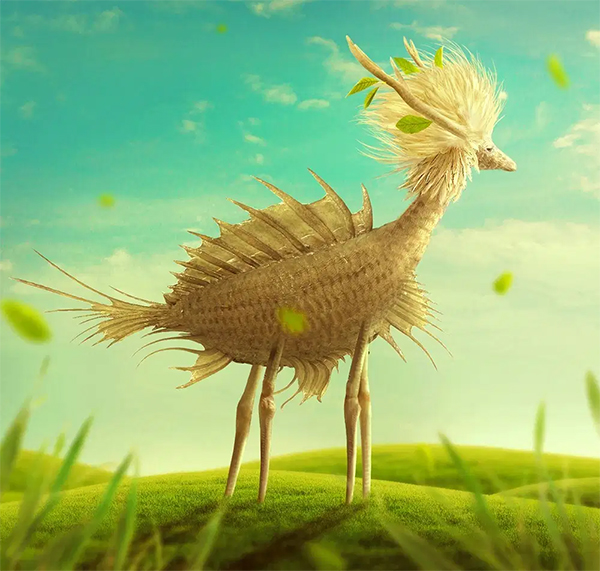 How to Create a Fantasy Creature with Adobe Photoshop