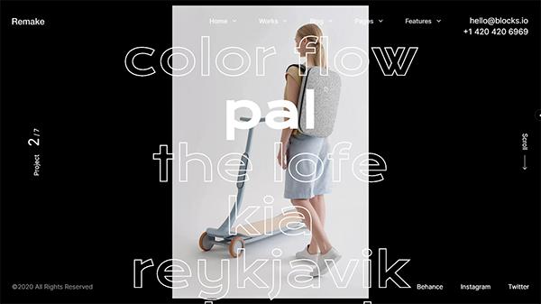 Remake - Minimal Portfolio & Agency Theme