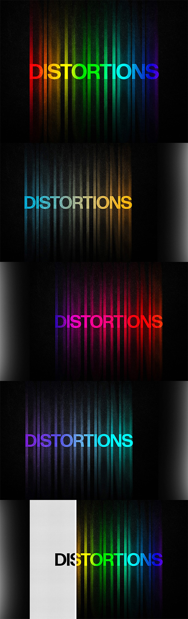 Free Download Awesome Color Distortion Text Effect For Designers (2020)