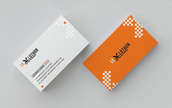 Creative Barber Business Card Freebie PSD