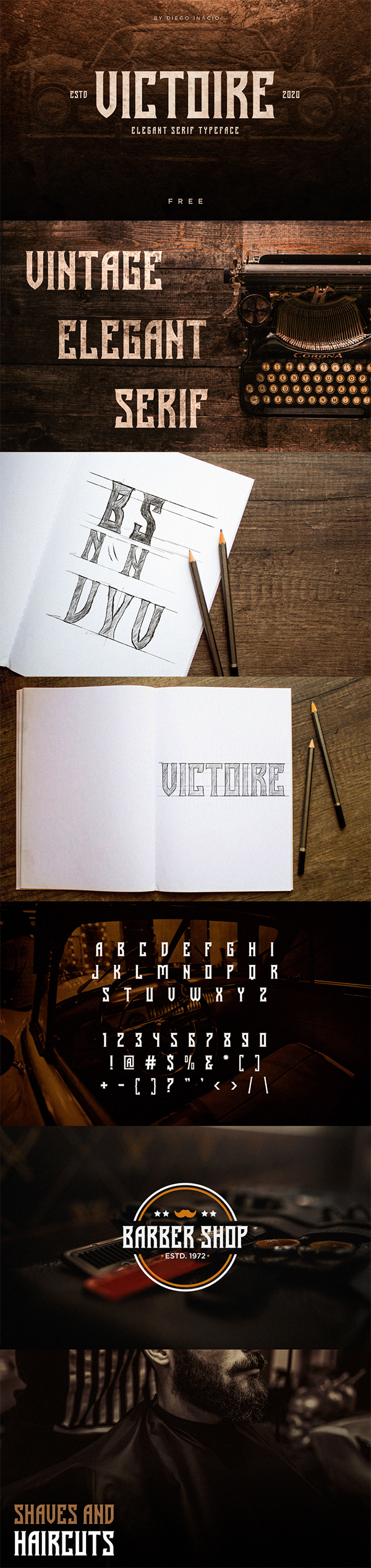 Victoire Free Font