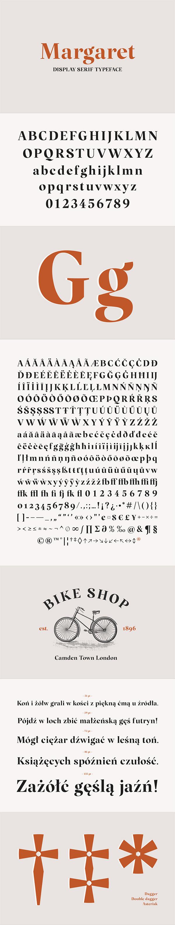 Margaret Free Font