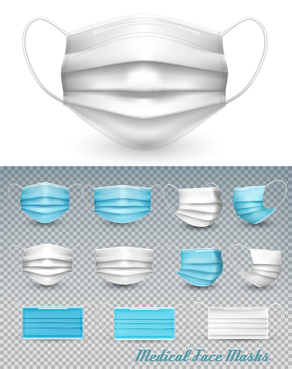 How to Create a Vector Medical Face Mask Mockup in Adobe Illustrator