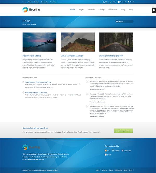 Sterling - Responsive WordPress