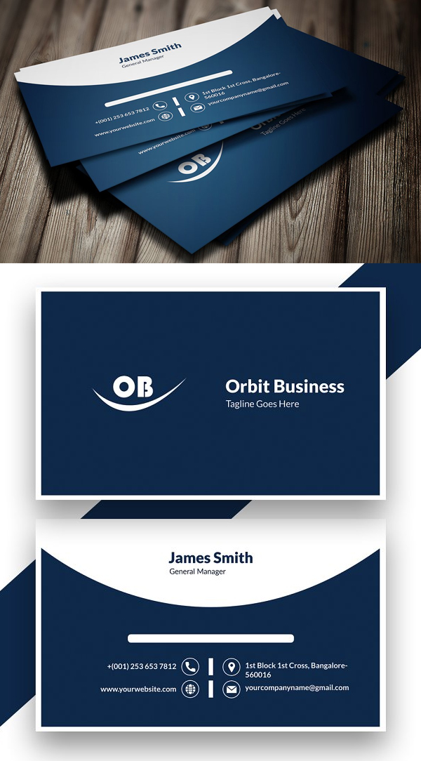 Personal Business Card Design