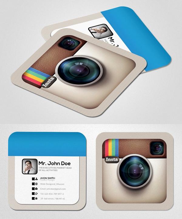Instagram Social Card Template