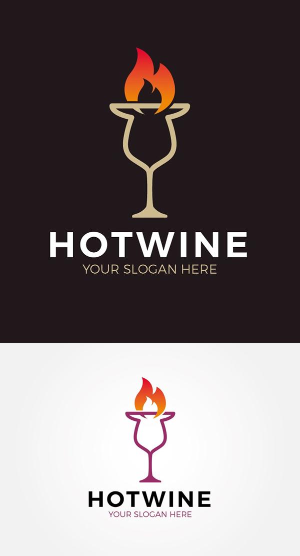 Hot Wine Logo
