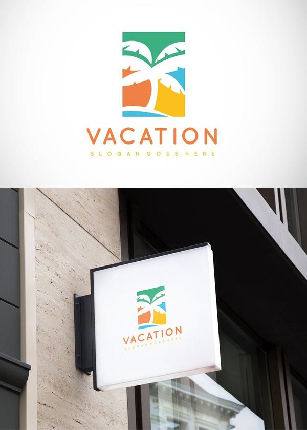 Palm Beach Colorful Logo