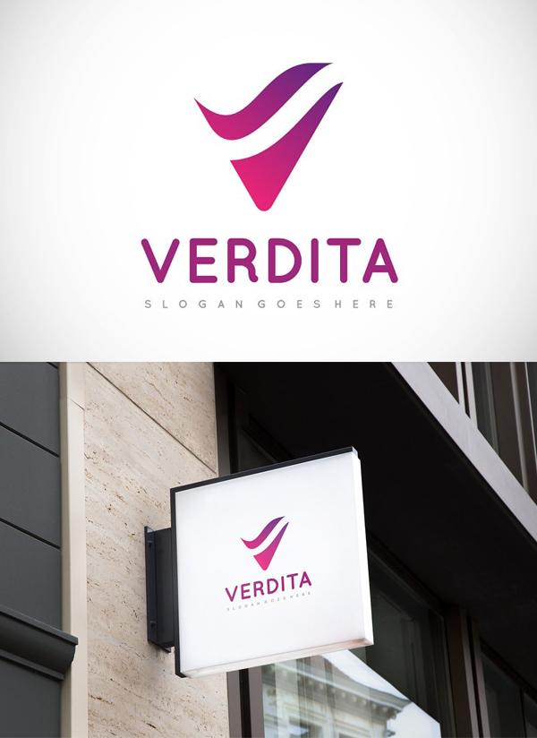 V -Letter Logo