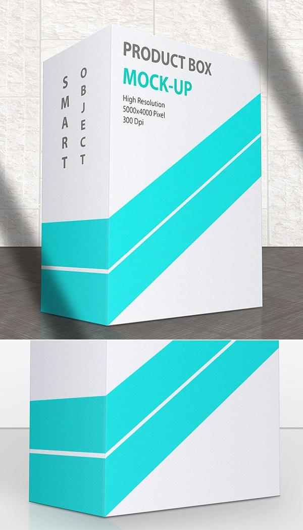Product Box Mock-Up