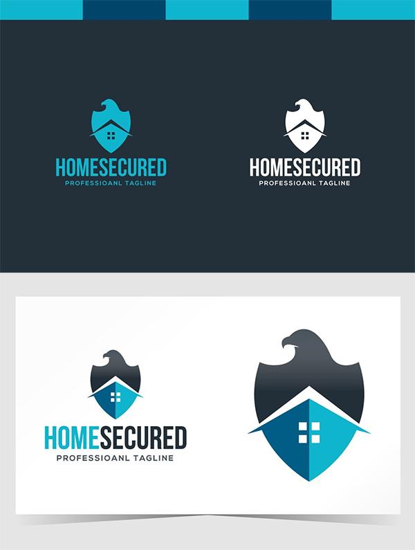 Home Secured Logo Design