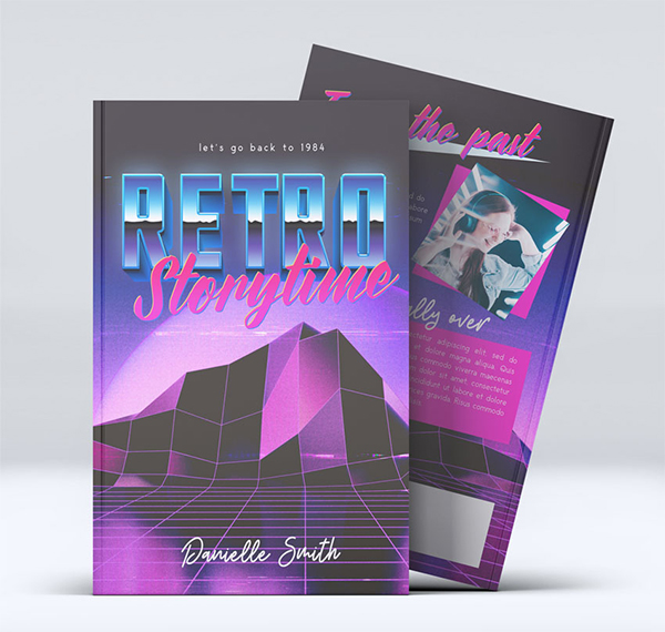 How to Make an 80s Book Cover Template in Photoshop