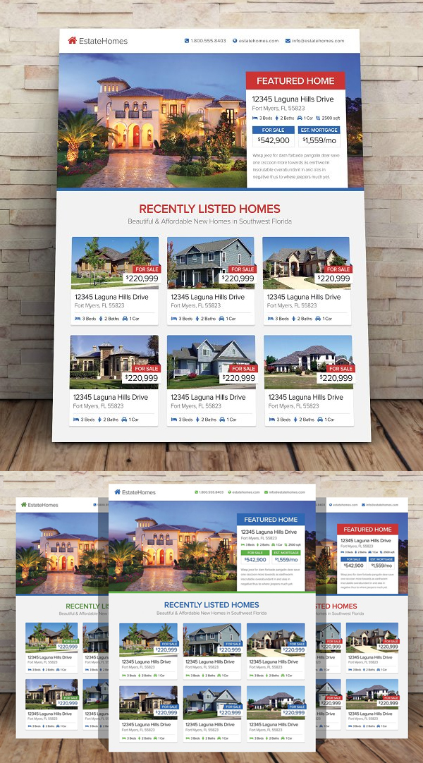 Perfect Real Estate Flyer Template