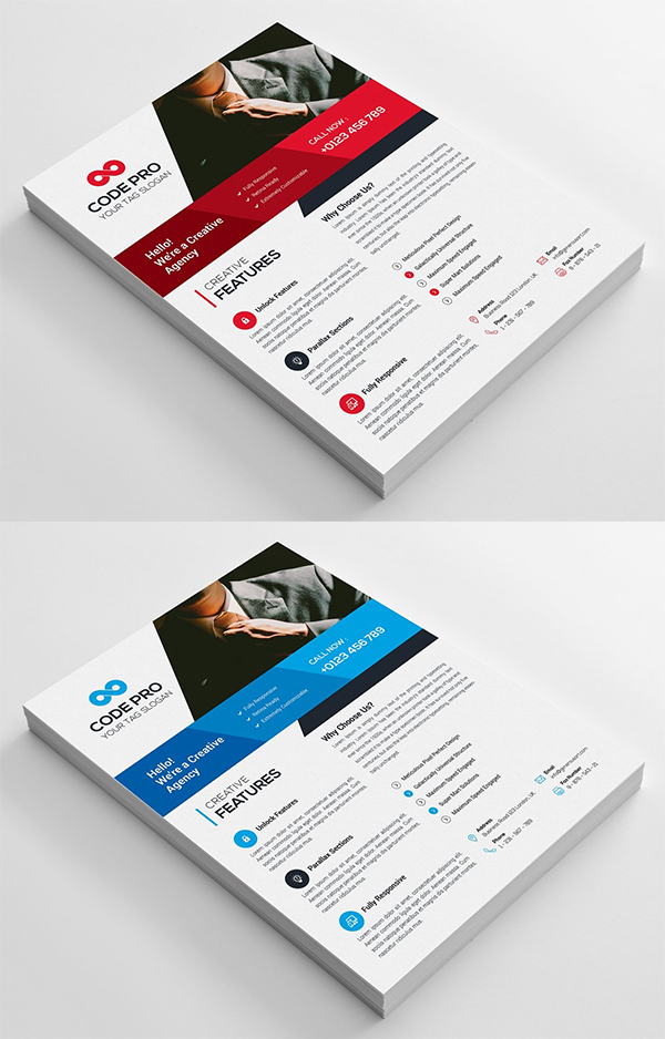 Corporate Flyers Template
