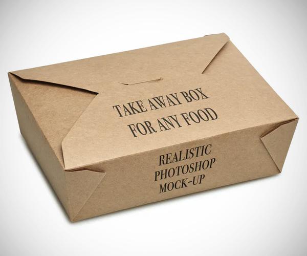 Take away BOX Mock-up