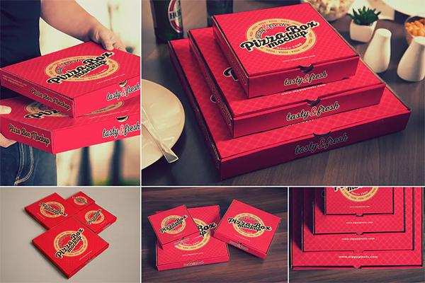 Pizza Mockups