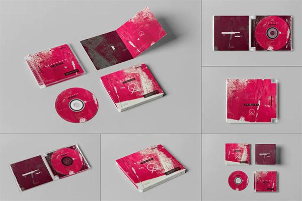 CD Pack Mock-up