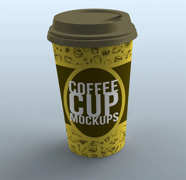Coffee Cup Product Mockups