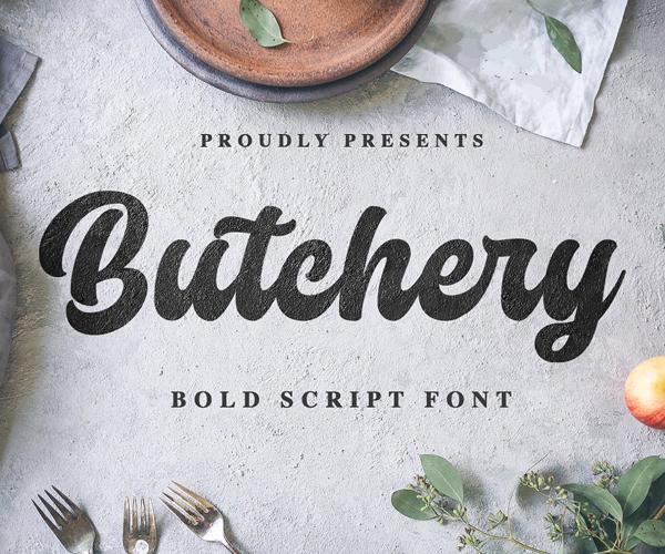 script+font